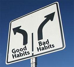 عادات كاري خوب و بد
