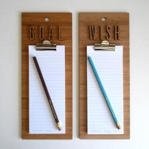 goal-wish-list-clipboard